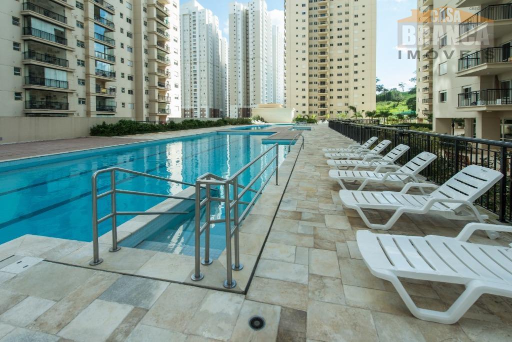Apartamento com 2 dormitórios à venda, 68 m² por R$ 375.000 - Jardim Tupanci - Barueri/SP