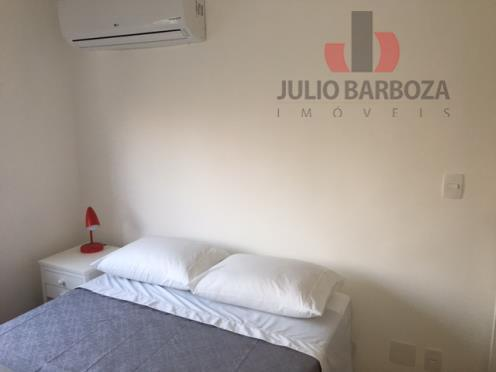apartamento de alto padrão, todo mobiliado, composto por 1 dormitório, sala, sacada, cozinha, área de serviço...