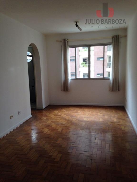 Apartamento com 1 dormitório à venda, 45 m² por R$ 500.000 - Moema - São Paulo/SP