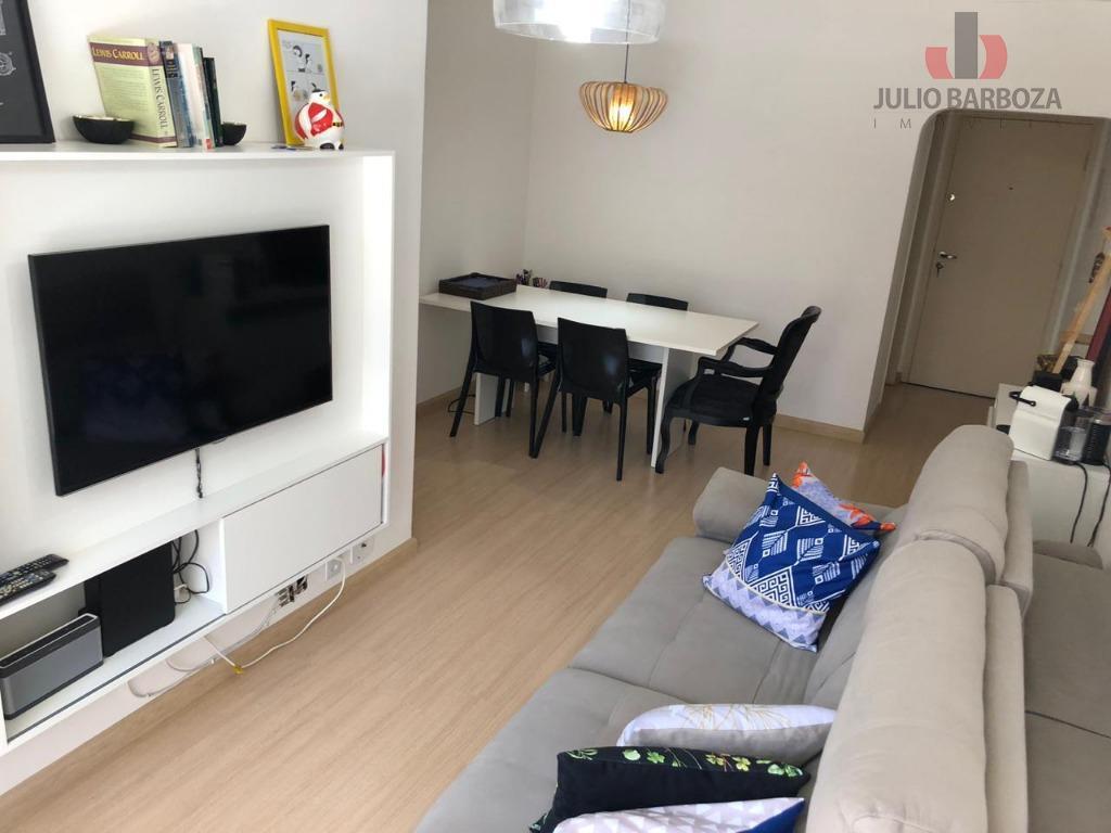 Apartamento com 2 dormitórios para alugar, 70 m² por R$ 2.500/mês - Moema - São Paulo/SP