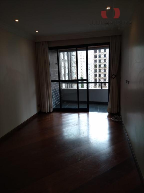 Apartamento com 2 dormitórios para alugar, 75 m² por R$ 3.500/mês - Moema - São Paulo/SP