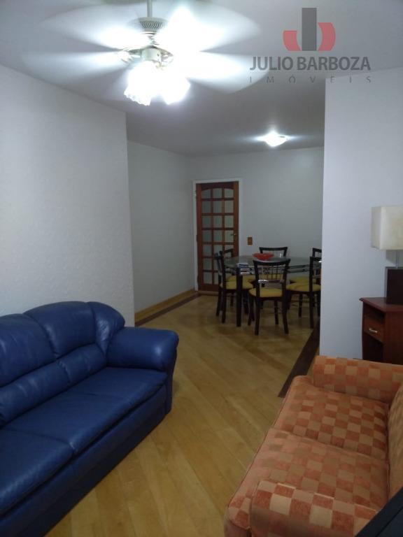 Apartamento com 3 dormitórios para alugar, 85 m² por R$ 3.000/mês - Moema Pássaros - São Paulo/SP