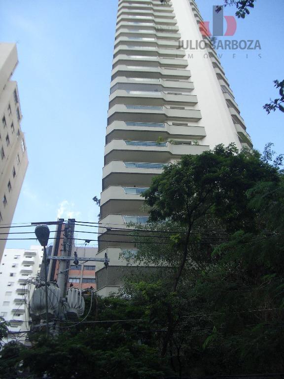 Apartamento com 3 dormitórios para alugar, 210 m² por R$ 4.900/mês - Moema Pássaros - São Paulo/SP