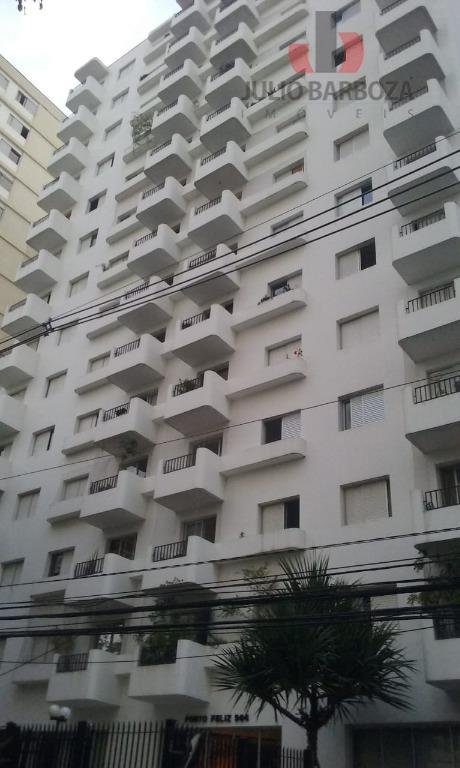 Apartamento com 3 dormitórios para alugar, 112 m² por R$ 4.200/mês - Moema - São Paulo/SP