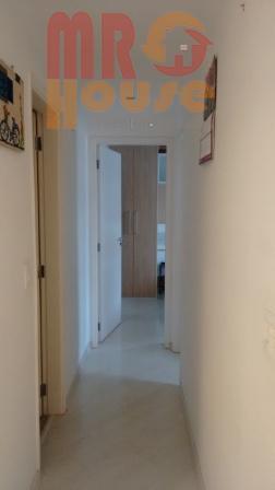apto. reformado e mobiliado, 63 au - são 2 dts sendo 1 suite, com closet, sala...
