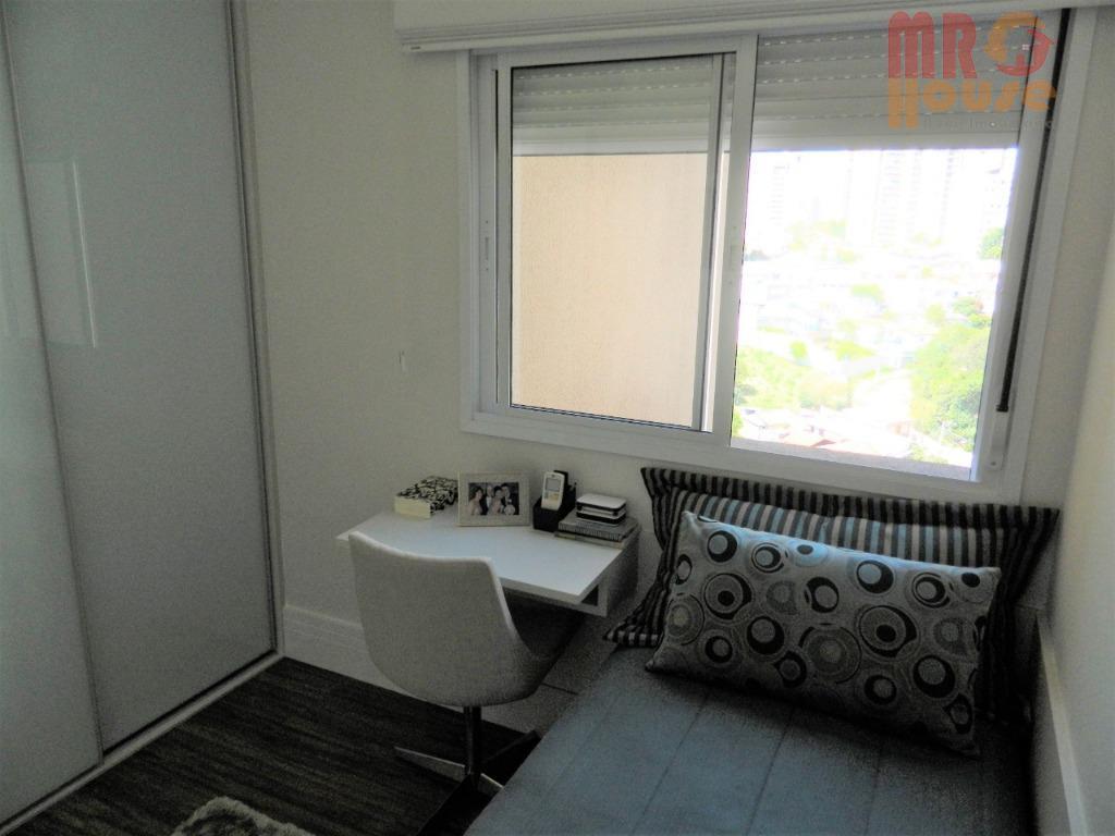 apto alto padrão, andar alto, 4 dormitórios sendo 3 suítes, 2 vagas de garagem coberta, terraço...