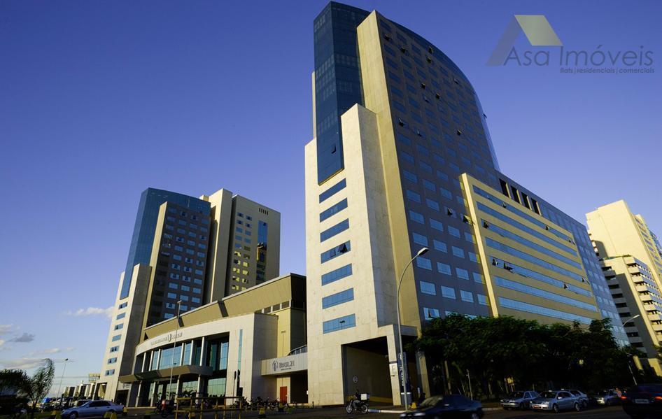 flat alto padrão 5 estrelas no hotel brasil 21 convention situado às margens do eixo monumental...