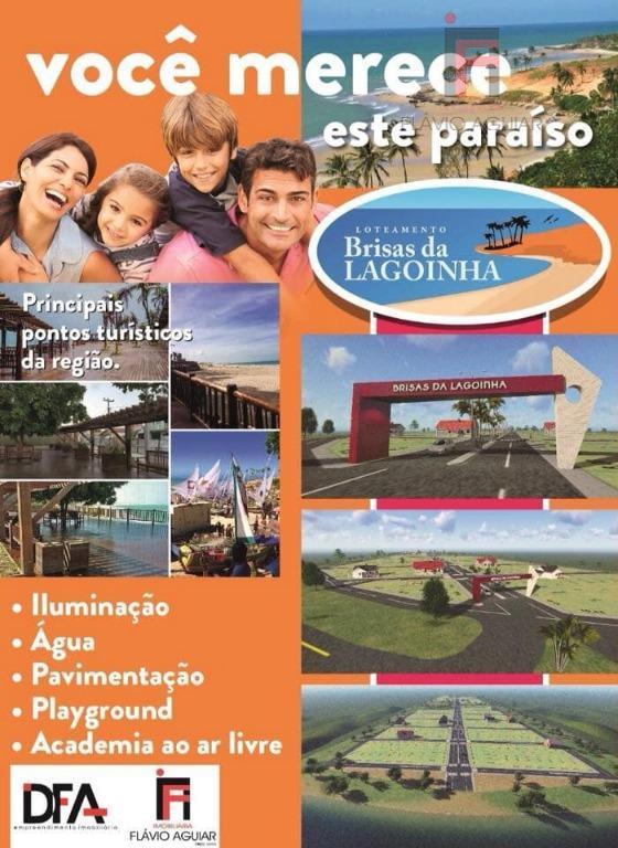 Terreno à venda, 200 m² por R$ 179 - Lagoinha - Paraipaba/CE