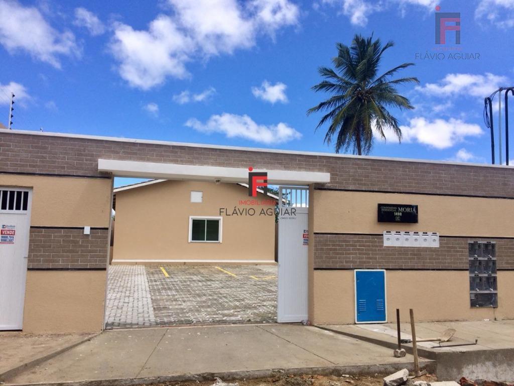 Casa com 2 dormitórios à venda por R$ 155.000 - Parque Potira - Caucaia/CE