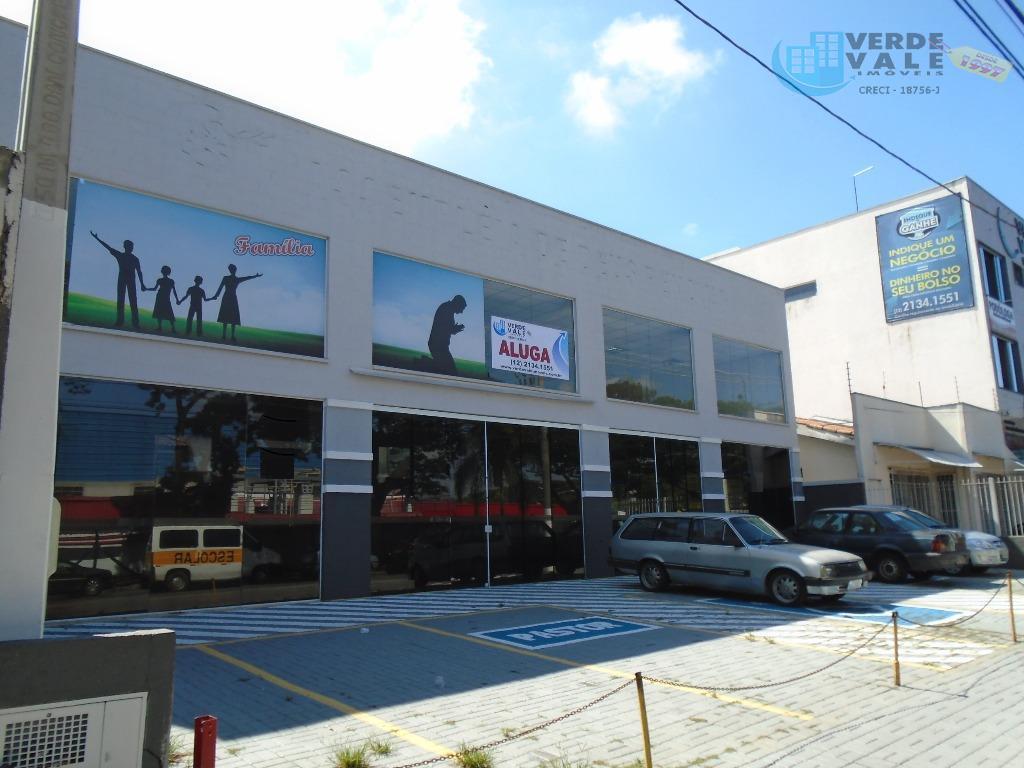 Salão comercial para locação, Jardim Motorama, São José dos Campos.