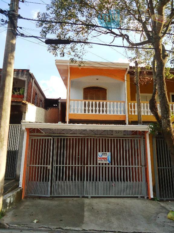 Sobrado residencial à venda, Residencial São Francisco, São José dos Campos.
