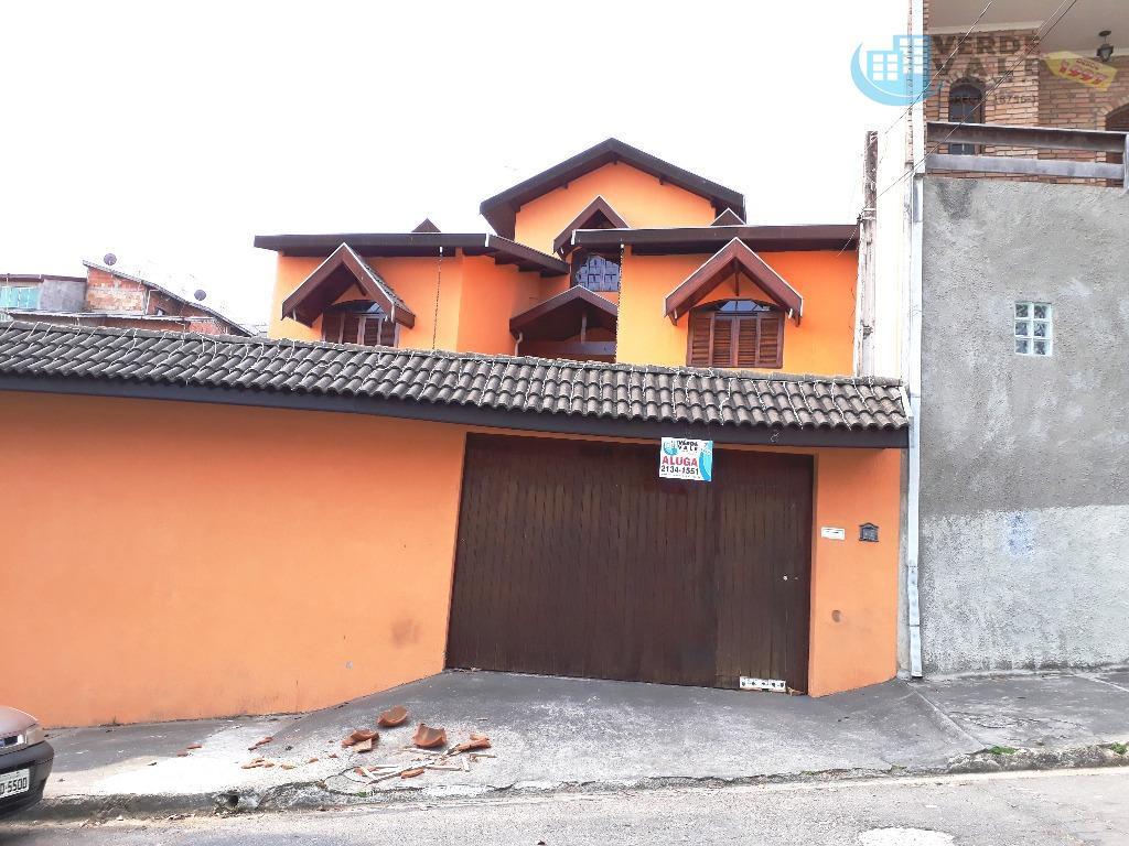 Sobrado residencial para locação, Jardim Altos de Santana, São José dos Campos.