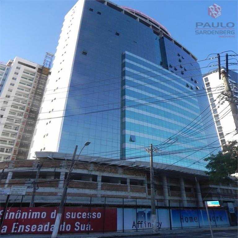 Sala comercial para venda e locação, Enseada do Suá, Vitória.