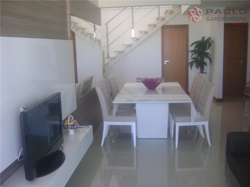 Cobertura duplex com 240 m² toda montada!