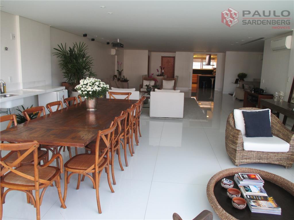 Espaço, conforto e um lazer mais que completo! Apartamento com 5 suítes em Barro Vermelho, Vitória.