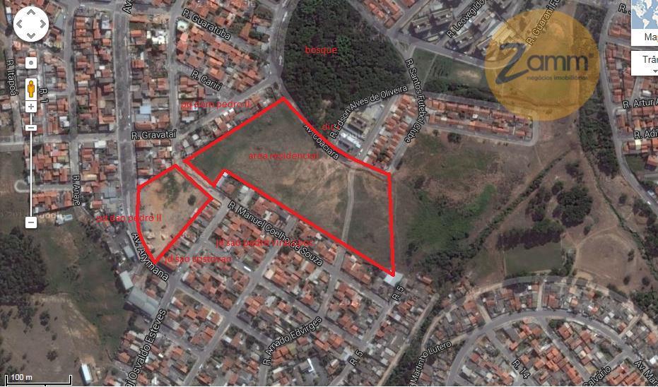 Área em Jardim São Cristóvão, Campinas - SP