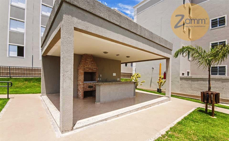 Apartamento de 2 dormitórios em Vila Monte Alegre, Paulínia - SP