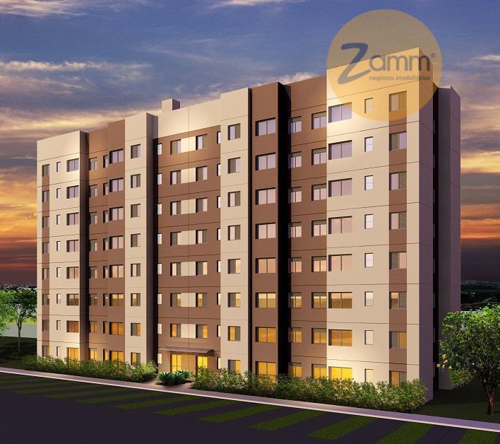 Apartamento de 2 dormitórios em Jardim São Gerônimo (Nova Veneza), Sumaré - SP