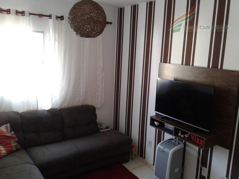 02 dormitórios, wc social, sala, cozinha, área de serviço, 01 vaga de garagem .(imóvel mobiliado, exceto...