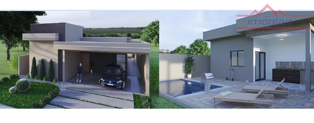 Casa com 3 dormitórios à venda, 160 m² por R$ 589.000 - Condomínio Terras de Atibaia I - Atibaia/SP