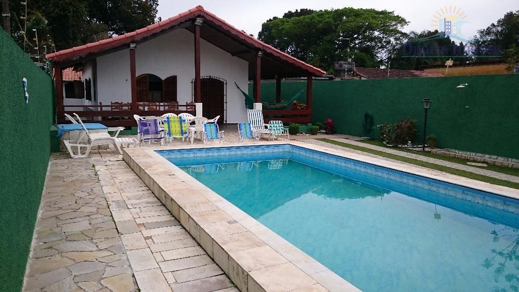 Casa residencial à venda, Jardim Indaiá, Bertioga.