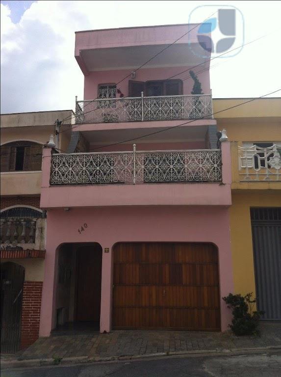 Sobrado residencial à venda, Centro, Diadema.