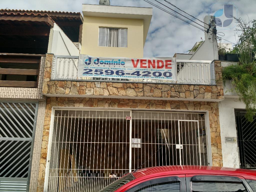 Sobrado residencial à venda, Conceição, Diadema.