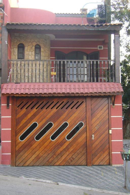 Sobrado residencial à venda, Conceição, Diadema - SO0114.