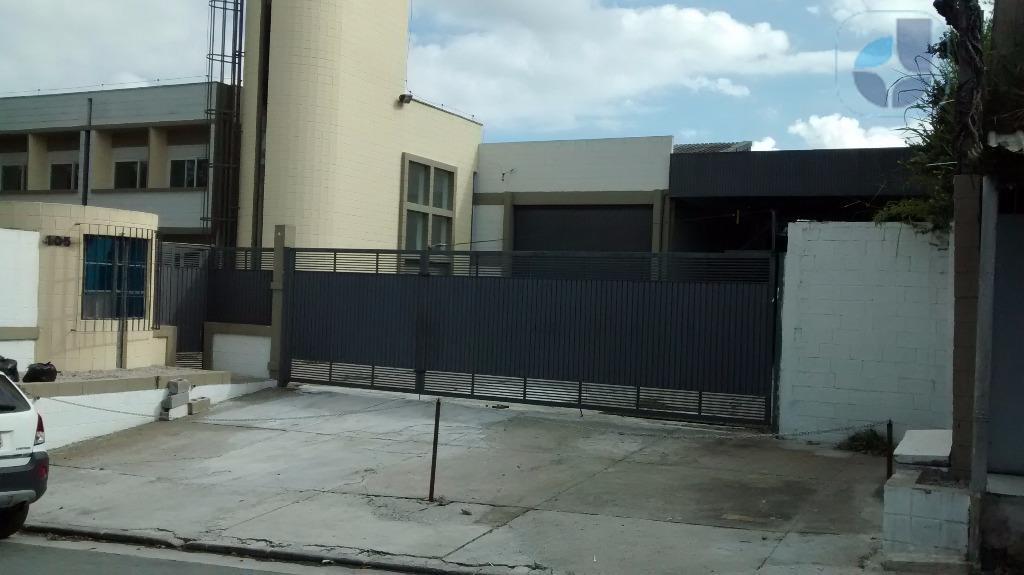 Galpão comercial para locação, Campanário, Diadema - GA0131.