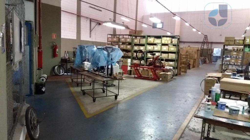 Galpão Comercial para locação, Vila Santa Maria, Diadema - GA0426.
