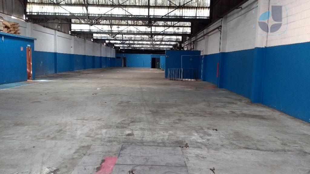 Galpão industrial para locação, Vila Nogueira, Diadema - GA0558.