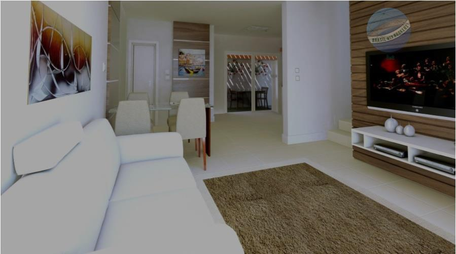 Casa Duplex com placa de energia solar, piso em porcelanato e churrasqueira, em Nova Parnamirim - Douro Village