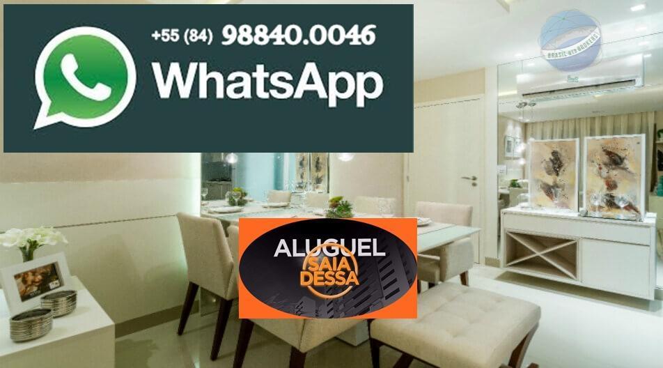 Apartamento com 2 quartos, sendo 1 suíte, em Ponta Negra - Áurea Guedes