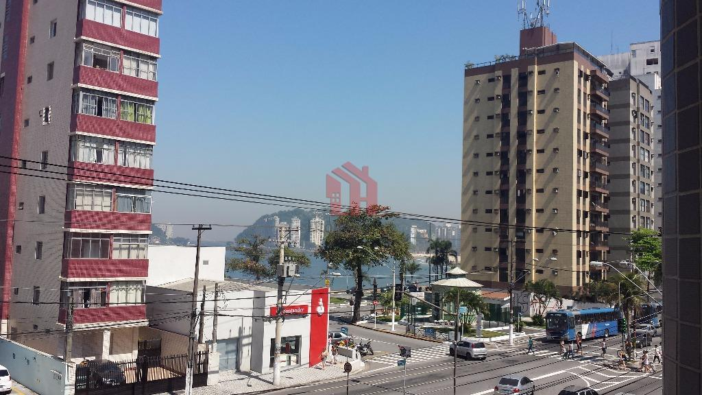 Apartamento  residencial para venda e locação, Boa Vista, São Vicente.