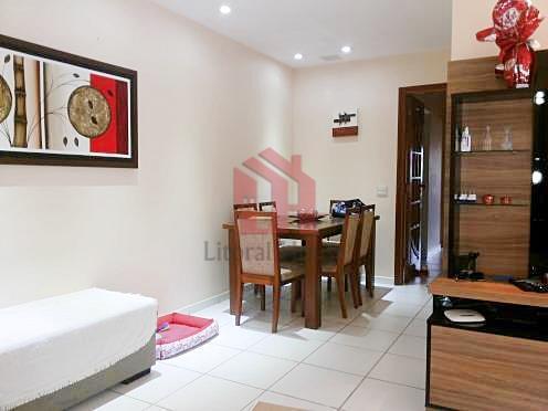 Apartamento com 3 dormitórios à venda, 110 m² por R$ 475.000,00 - Campo Grande - Santos/SP