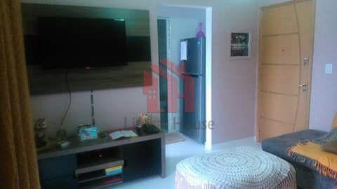 Apartamento com 1 dormitório e vista mar, Parque Prainha - S.V.