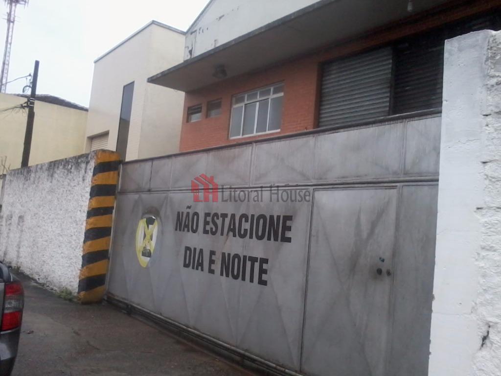 Galpão para alugar, 1000 m² por R$ 20.000,00/mês - Macuco - Santos/SP