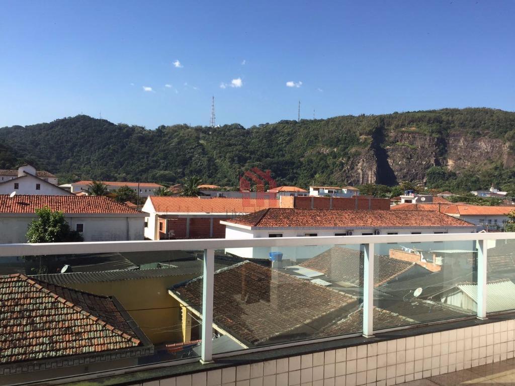 Village com 2 dormitórios à venda, 110 m² por R$ 299.000 - Vila Voturua - São Vicente/SP