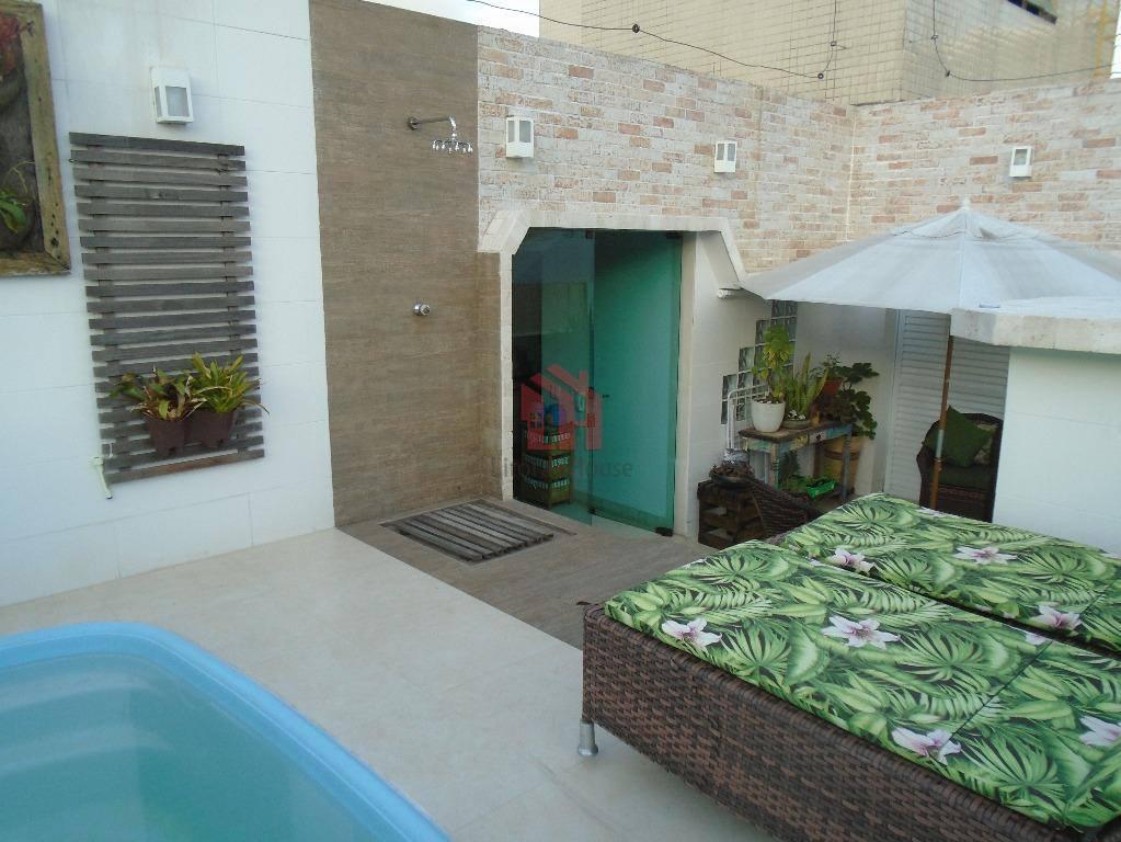 Cobertura residencial à venda, Itararé, São Vicente, 3 Dormitórios, 1 Suíte, 2 Vagas