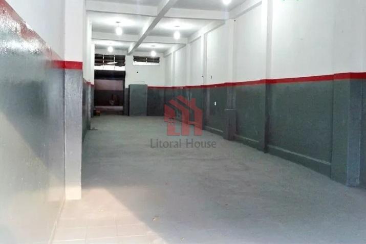 Galpão para alugar, 222 m² por R$ 4.200,00/mês - Vila Matias - Santos/SP