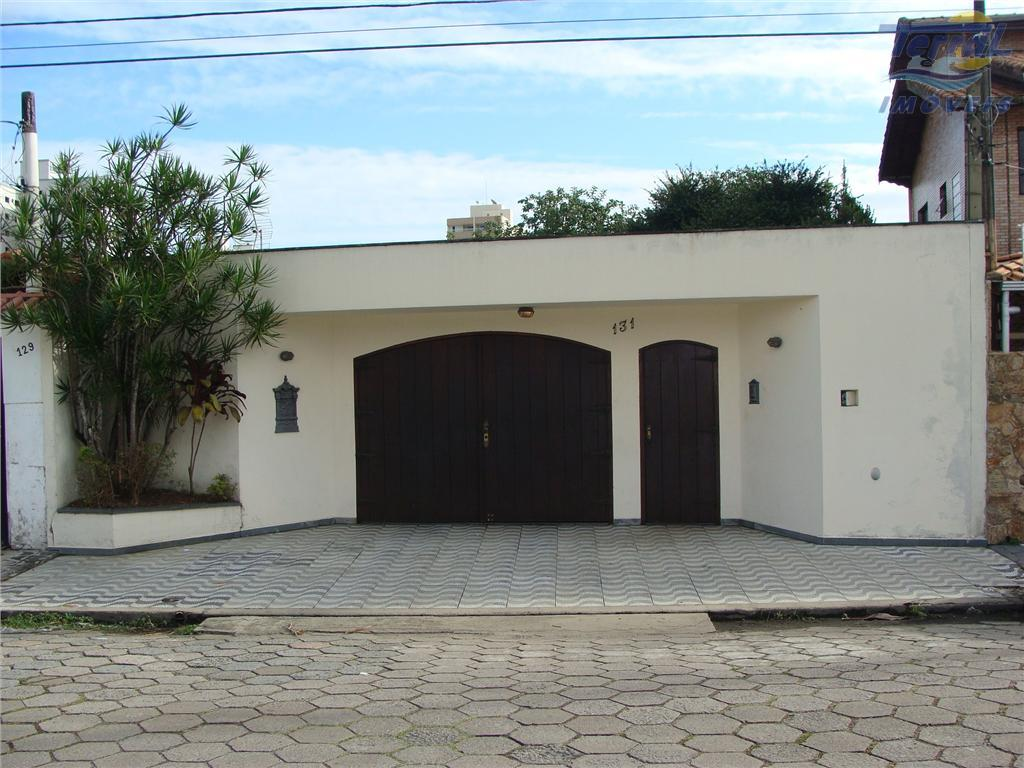 Casa  residencial à venda, Campo da Aviação, Praia Grande.