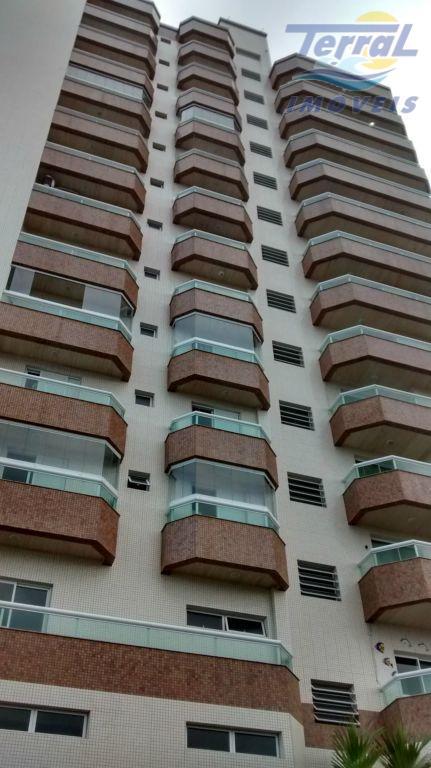 Apartamento com vista mar em prédio de frente - Caiçara - Praia Grande