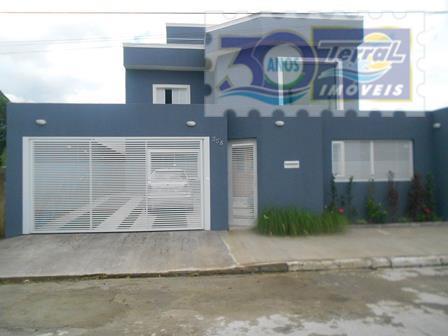 Sobrado Alto padrão residencial à venda, Balneário Flórida, Praia Grande - SO0633.
