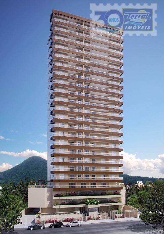 Lançamento !!! Apartamento  residencial à venda, Vila Tupi, Praia Grande.