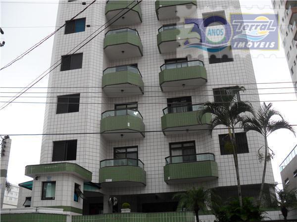 Apartamento MOBILIADO !!! De 2 dorm sendo 1 suite prox da praia à venda, Campo da Aviação, Praia Grande.
