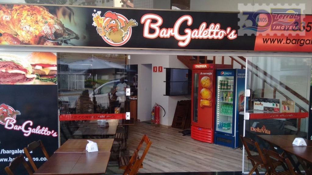 Ponto comercial à venda, Vila Guilhermina, Praia Grande.