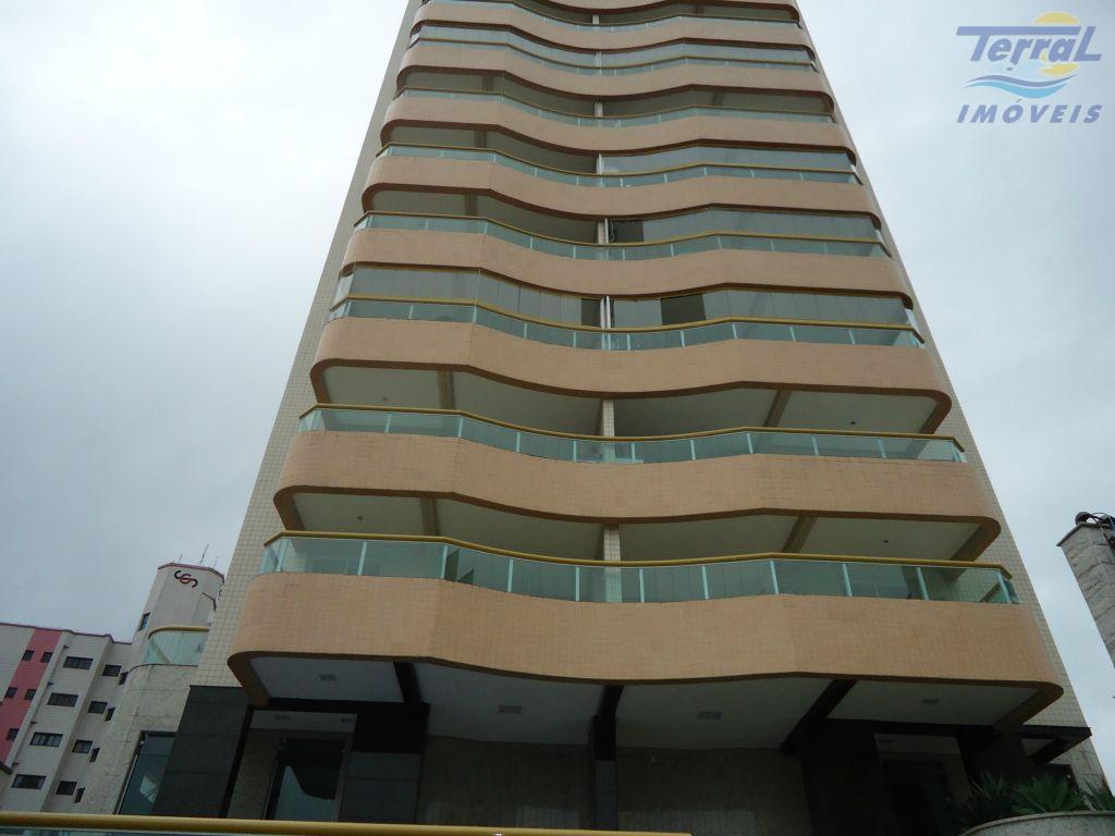 Apartamento  3 Dormitórios todo mobiliado residencial à venda, Campo da Aviação, Praia Grande. Vista Mar