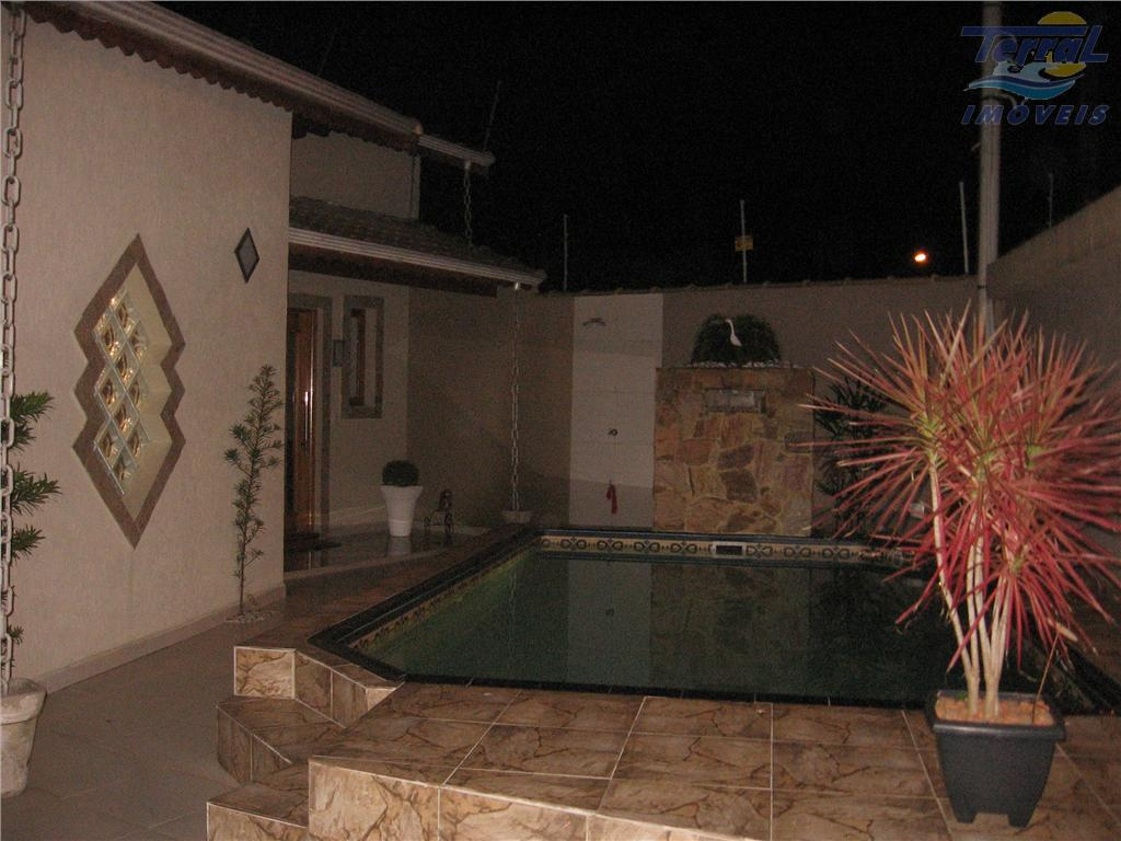 Espetacular casa à venda, Balneário Flórida, Praia Grande, jardim de inverno, piscina com cascata e hidromassagem, armários.