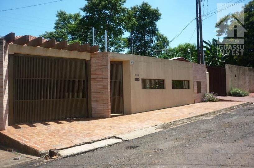 Casa residencial à venda, Jardim Karla, Foz do Iguaçu.