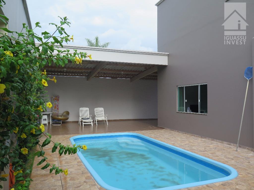 Sobrado residencial à venda, Jardim Festugato, Foz do Iguaçu.